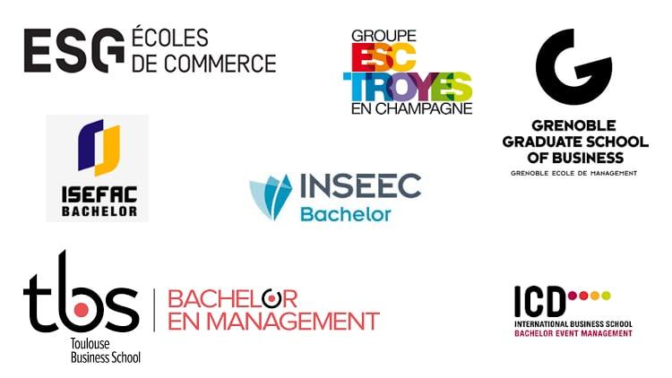 Logos des bachelor management