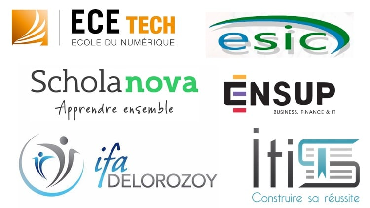 Logos des BTS informatique