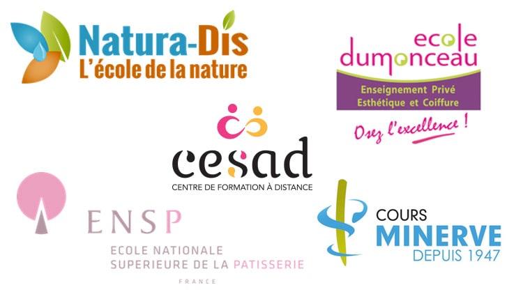 Logos écoles CAP