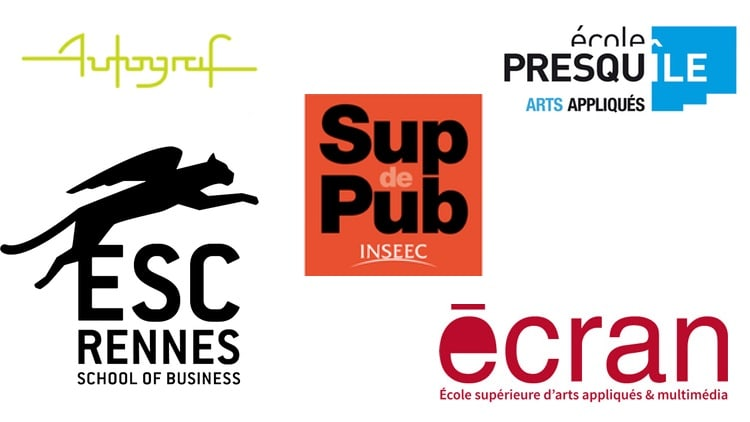 Logos écoles de design