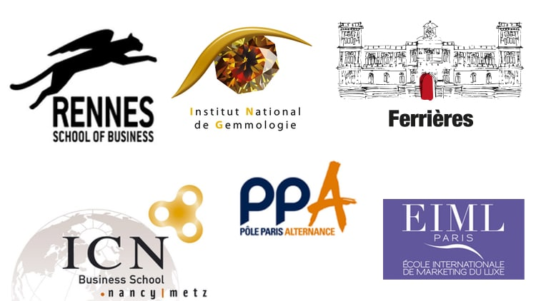 Logos formations luxe