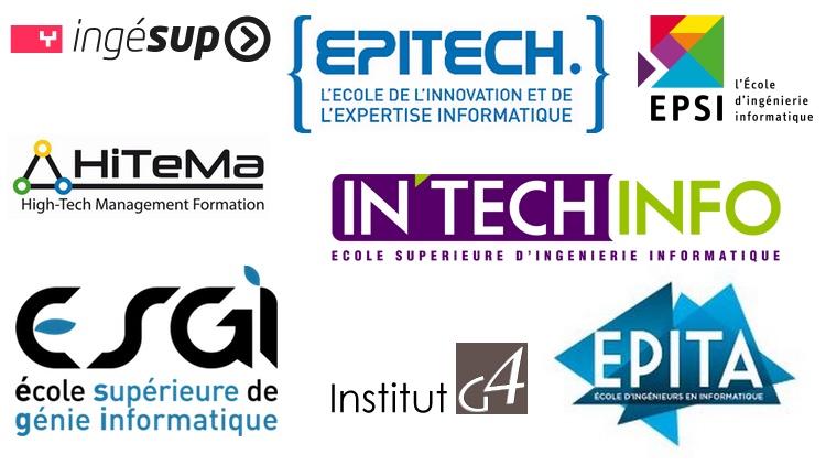 Les écoles d'informatique à Paris