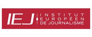 Logo de IEJ - Institut européen de journalisme