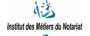Logo de IMN - Institut des métiers du notariat de Rennes