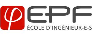 Logo de EPF - Ecole d'ingénieurs généralistes