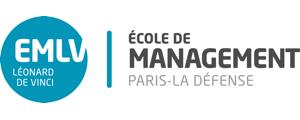 Logo de EMLV - Ecole de Management Léonard de Vinci