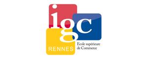 Logo de Institut de Gestion et de Commerce de Rennes