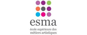 Logo de ESMA - Ecole Supérieure des Métiers Artistiques - Montpellier