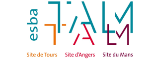 Logo de ESBA Talm - Ecole supérieure des beaux-arts Tours-Angers-Le Mans - Site de Tours