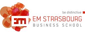 Logo de Ecole de management de Strasbourg, Université de Strasbourg
