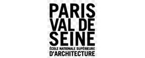 Logo de ENSA - Ecole nationale supérieure d'architecture de Paris Val-de-Seine