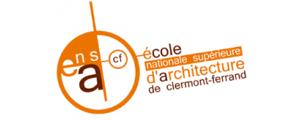 Logo de ENSACF - Ecole nationale supérieure d'architecture de Clermont-Ferrand