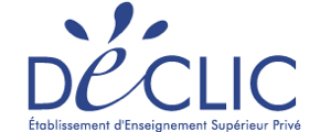 Logo de ESID - Ecole Supérieure Internationale Declic