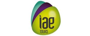 Logo de IAE - Institut d'administration des entreprises, Université de Tours