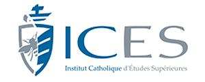 Logo de ICES - Institut catholique d'études supérieures