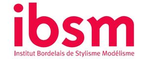Logo de IBSM - Institut bordelais de stylisme modélisme - ISBM