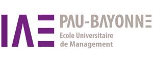 Logo de IAE Pau-Bayonne, École universitaire de management - Campus Bayonne, Université Pau et Pays de l'Adour