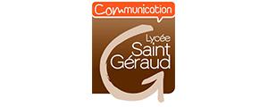 Logo de Lycée de la communication Saint-Géraud
