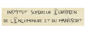 Logo de Institut supérieur européen de l'enluminure et du manuscrit