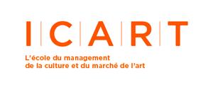 Logo de ICART Paris -L'école du management de la culture et du marché de l'art