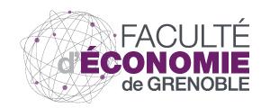 Logo de ESE - UFR économie, stratégies, entreprise Valence, Université Pierre Mendès France - Grenoble 2