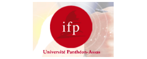 Logo de IFP - Institut français de presse, Université Panthéon-Assas