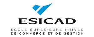 Logo de ESICAD - Ecole supérieure privée de commerce et gestion - Toulouse