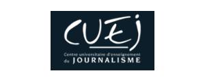 Logo de CUEJ - Centre universitaire d'enseignement du journalisme, Université de Strasbourg