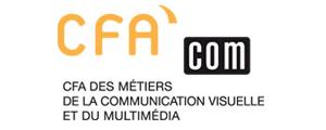 Logo de CFA COM - CFA des métiers de la communication visuelle et du multimédia