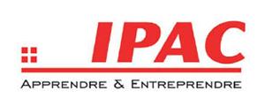 Logo de IPAC Ecole de Management