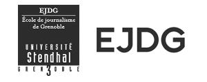 Logo de EJDG - Ecole de journalisme de Grenoble