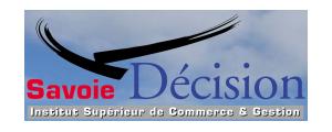 Logo de Savoie Décision - Institut Supérieur de Commerce & Gestion