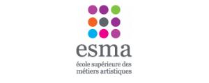 Logo de ESMA - Ecole Supérieure des Métiers Artistiques