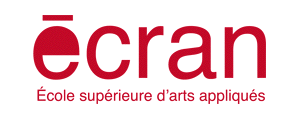 Logo de Ecran - Ecole Supérieure d'Arts Appliqués & Multimédia