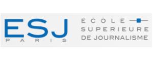 Logo de ESJ Paris - Ecole Supérieure de Journalisme de Paris