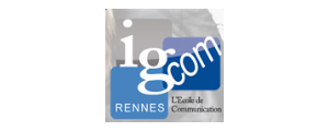 Logo de Ecole de Communication de Rennes