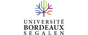 """Logo de Université """"Victor Segalen""""Bordeaux 2"""