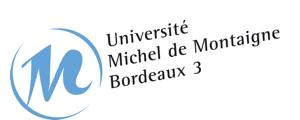Logo de Université Michel de MontaigneBordeaux 3