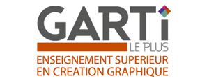Logo de Garti Enseignement Supérieur en Création Graphique