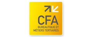 Logo de CFA bureautique et métiers tertiaires - Groupe IGS