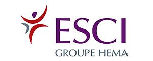 Logo de ESCI - Ecole supérieure de commerce international