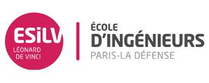 Logo de ESILV - Ecole Supérieure d'Ingénieurs Léonard de Vinci