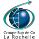 Logo de La Rochelle Digital School