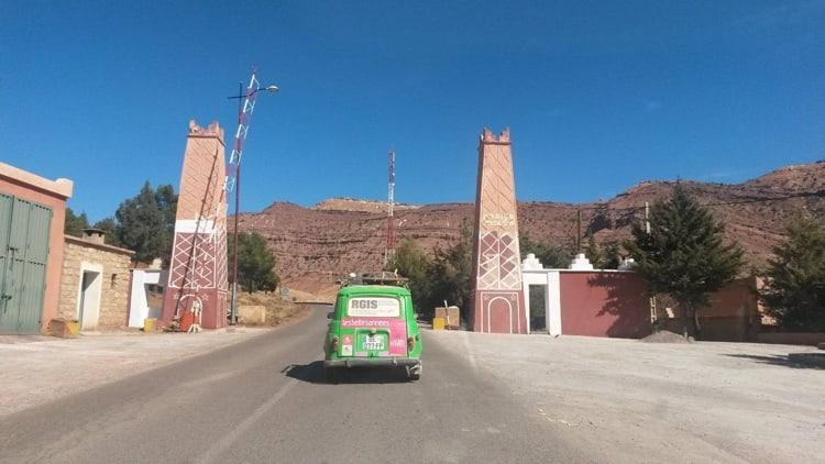 La 4L au Maroc