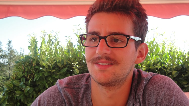 Aurélien, étudiant à Grenoble INP-Ense3