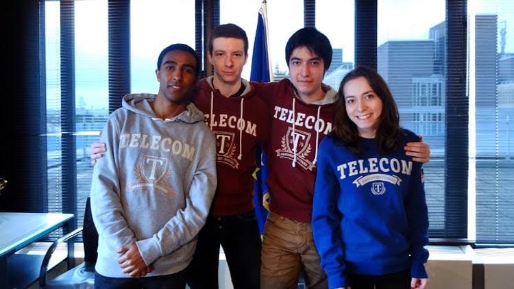 gagnants Parabole 2016 étudiants Télécom SudParis