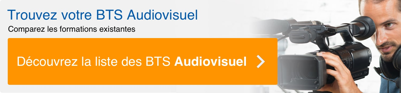 bouton de recherche pour un BTS audiovisuel
