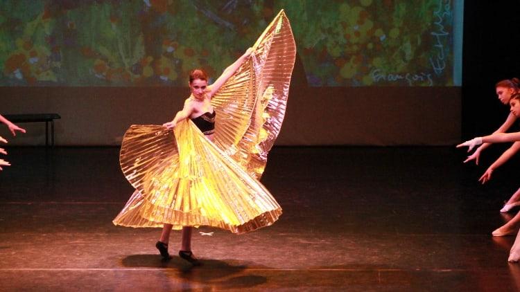 Maud Viala, étudiante et danseuse