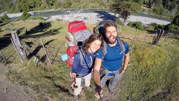 Solène et Marc, son copain