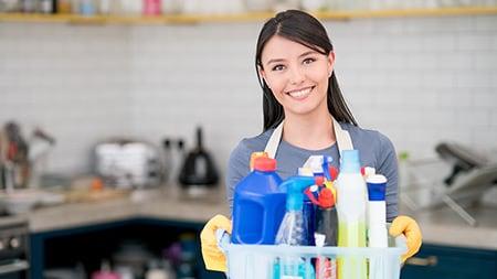 Employé des métiers de l'hygiène et de la propreté